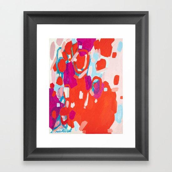 Color Study No. 7 Framed Art Print