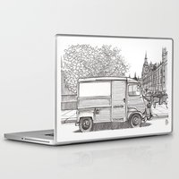 uk Laptop & iPad Skins featuring London UK by Renato Verzaro
