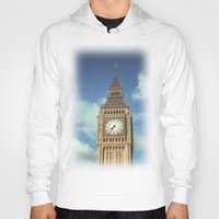 ben giles Hoodies featuring Big Ben by MarioGuti