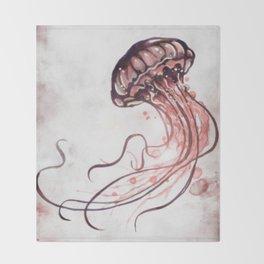 Jellyfish II Throw Blanket