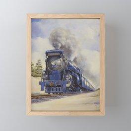 The Seashore's Finest Train Framed Mini Art Print