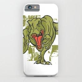 Tyrannosaurus gruen iPhone Case