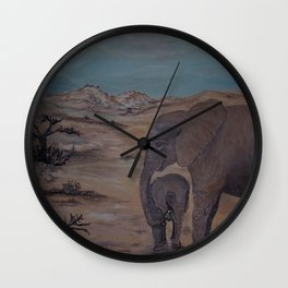 Sities and Sugala, orphans of the wild Wall Clock