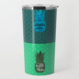 Things Carlton Lassiter would rather do - Psych quotes Travel Mug