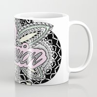 passion Mugs featuring Passion by O   N   E