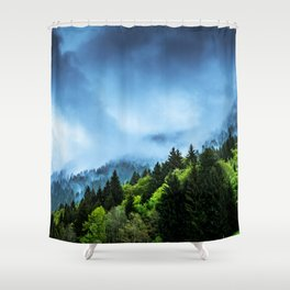 Charming Winter Shower Curtain