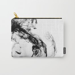 MONOCHROME MARBLE / INDIAN INK IN WATER Carry-All Pouch