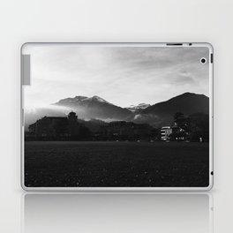 Foggy Switzerland Black&White Laptop & iPad Skin
