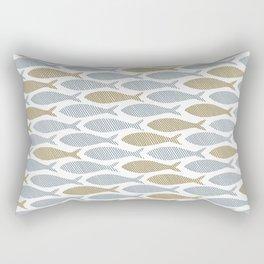 shoal of herring Rectangular Pillow