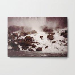Waterfalls-Niagara Metal Print
