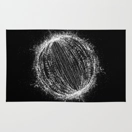 Planetary Explosion Rug