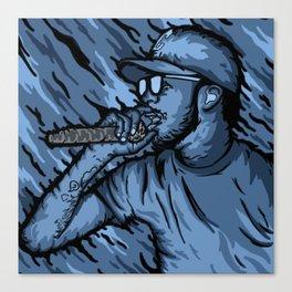 Hip Hop Love Canvas Print