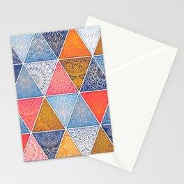 Pattern Mandala Losange Stationery Cards