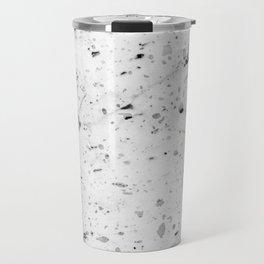 Speckle Marble Print Travel Mug