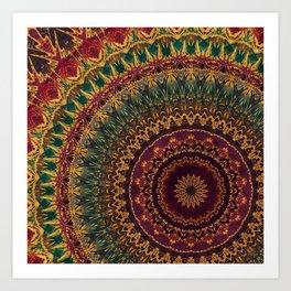 Mandala 220 Art Print