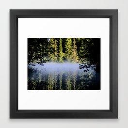 Morning mirror Framed Art Print