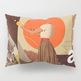 Archival World Pillow Sham