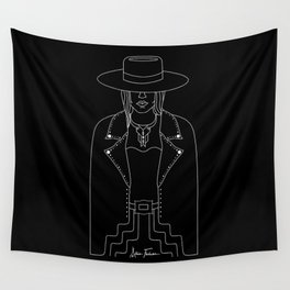 Lady Outlaw Wall Tapestry
