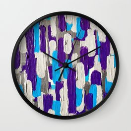 Calm Stripes Overload Wall Clock