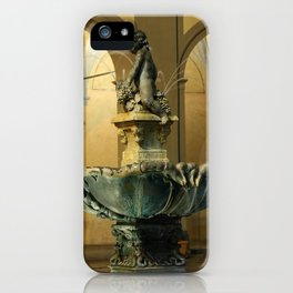 The Fountain - Prato - Tuscany iPhone Case
