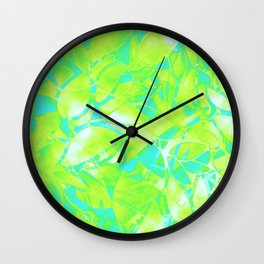 Grunge Art Floral Abstract G170 Wall Clock