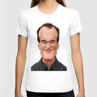tarantino T-shirts featuring Celebrity Sunday ~ Quentin Tarantino by rob art | illustration