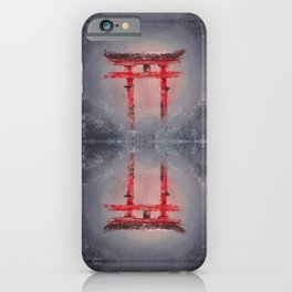 Gate of Beginning iPhone Case