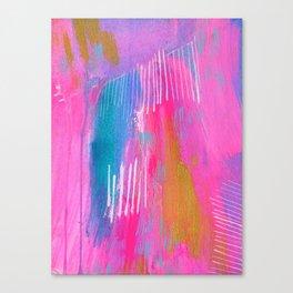 a vast and fathomless heart Canvas Print