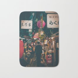 "PHOTOGRAPHY ""Typical Japan Street"" Bath Mat"