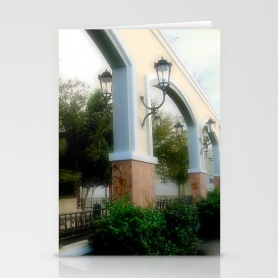 Plaza de Rincon Stationery Cards