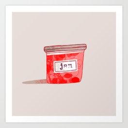 Strawberry Jam 2 Art Print