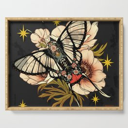 Andean Bee Butterfly Serving Tray