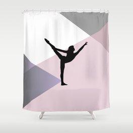 Gymnast Shower Curtain