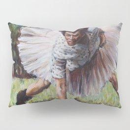Ace Ventura - Blue 42! - Jim Carey in a Tutu Pillow Sham