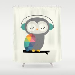 Owl Time Shower Curtain