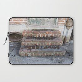 New Orleans: French Quarter Stoop Laptop Sleeve