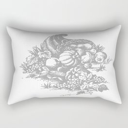 toile tradition grey Rectangular Pillow