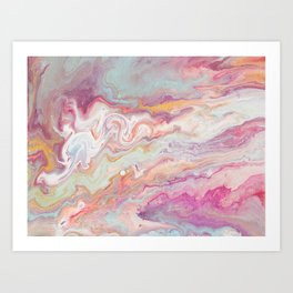 And come forth from the cloud of unknowing Art Print
