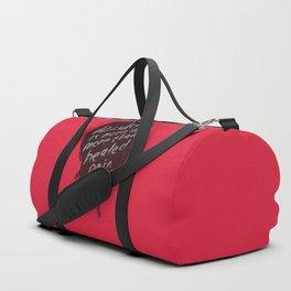 Words of wisdom Duffle Bag
