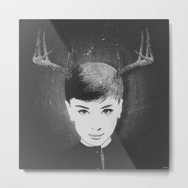 Bambi Hepburn (filter) Metal Print