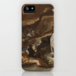 Luca Giordano An Allegory Of Africa iPhone Case