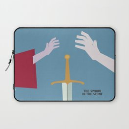 The Sword in the Stone - Movie Poster - Penguin Book version Laptop Sleeve