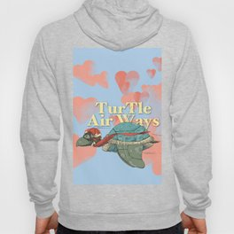 Turtle Air Ways, The flying turtle! Hoody