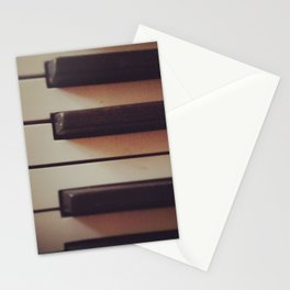 Vintage Piano Stationery Cards