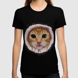 Cat Rainbow Face T-shirt