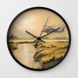 HH-60 Pave Hawk Helicopter Wall Clock