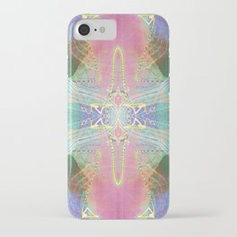 Electric Dragonfly / Bass Angel iPhone Case