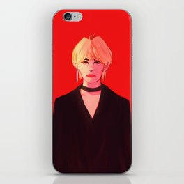 Vamp Taehyung iPhone Skin