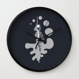 moon walks. Wall Clock
