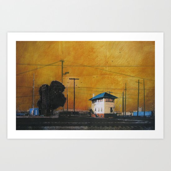 The Hobart Station Art Print